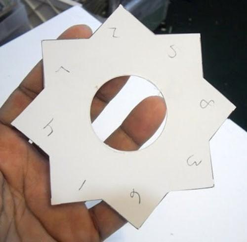 Шаблон звездочка для бантиков своими руками 116