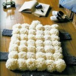 Simply mat pompons