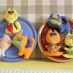 Funny cats fridge magnets