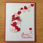 A few ideas for creating simple cards for Valentine's Day