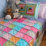 Baby blanket in the art of patchwork
