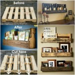 Crafts from old wooden pallets