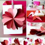 A few simple ideas for a romantic Valentine's Day crafts
