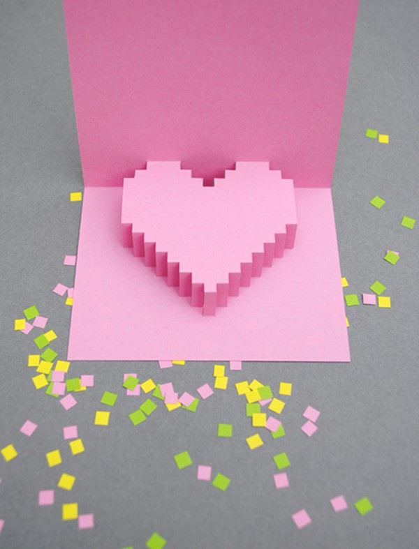 3D Valentines Day cards DIY is FUN – 3d Valentine Cards