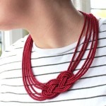 Youth necklace of rope