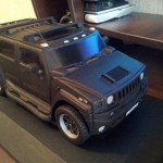 Homemade Hummer model