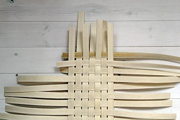 How Long Does It Take To Weave A Basket : How to weave a basket of veneer diy is fun