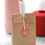 Creative approach to creating packaging for a Valentine's Day gift