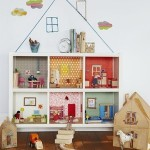 A selection of ideas for homemade dolls houses