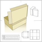 How to make a packing box for a gift with their own hands. Schemes
