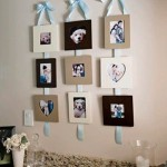 Soulful handmade home décor. Arrangement of photos