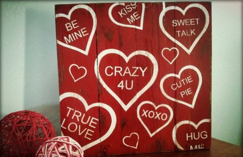 24 ideas for creating romantic signs on valentines day