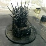 "How to make your own ""Iron Throne"" and put on it your phone"