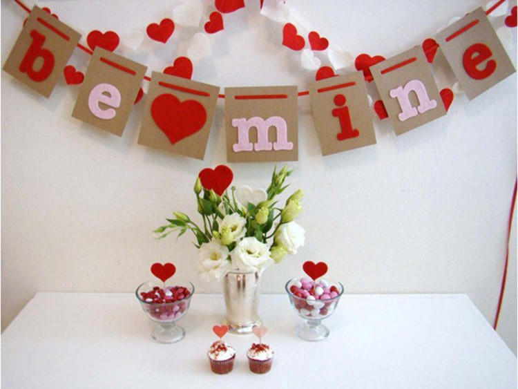 How to decorate an apartment for Valentine\'s day: few ideas – DIY is FUN