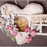 A time to love, or Heart in vintage style