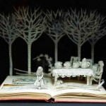 Book art of Su Blackwell