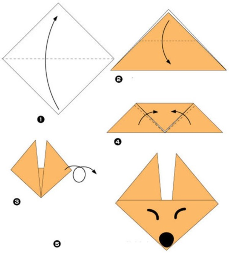 Самые простые оригами для детей