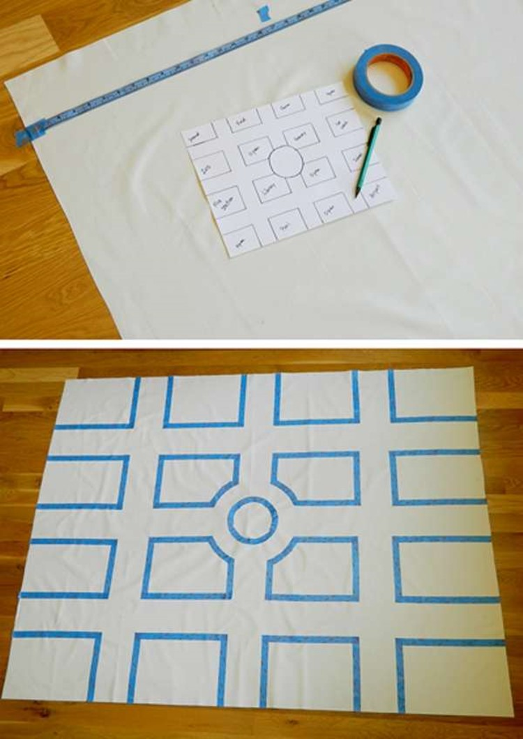 How to make a children's development mat with their hands – DIY is FUN