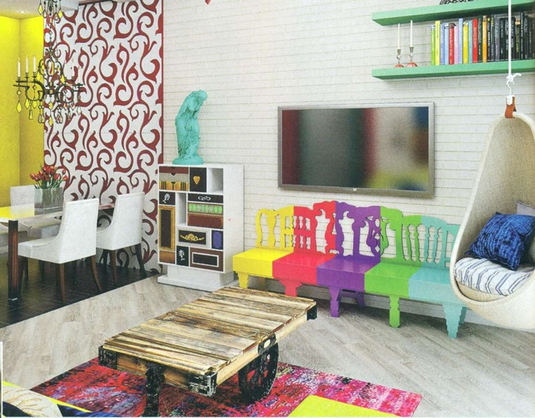 The Interior In Style Of Pop Art And Its Features DIY Is FUN