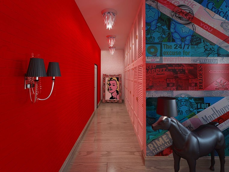 The Interior In The Style Of Pop Art And Its Features Diy