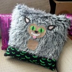 How to DIY a Monster Pillow: funny Werewolf