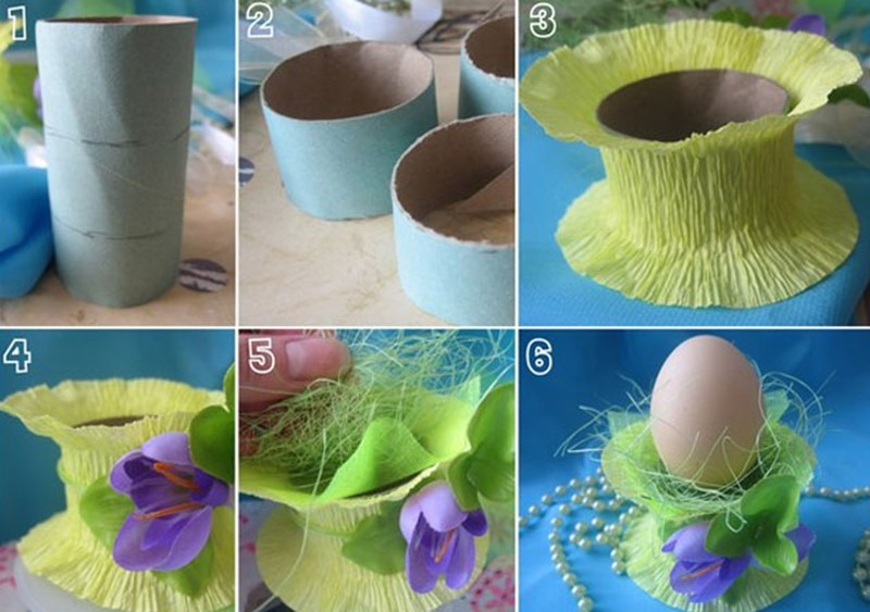 How to DIY simple stand for Easter eggs – DIY is FUN