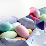 Easter basket origami: unusual Easter basket ideas