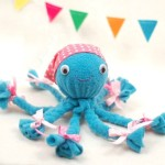 How to make fun soft octopus toy with their hands