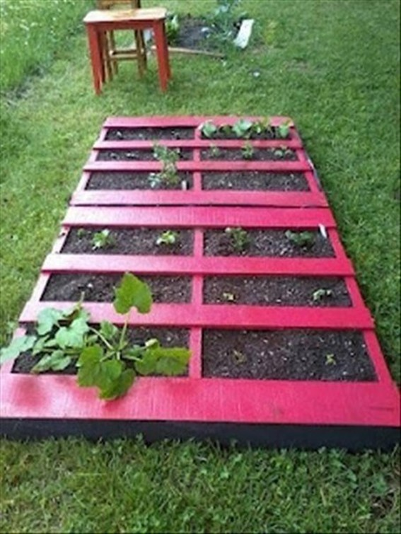 for example you can turn a wooden pallet in a bed for flowers or pot for growing plants in addition you can build warehouse for firewood or make a