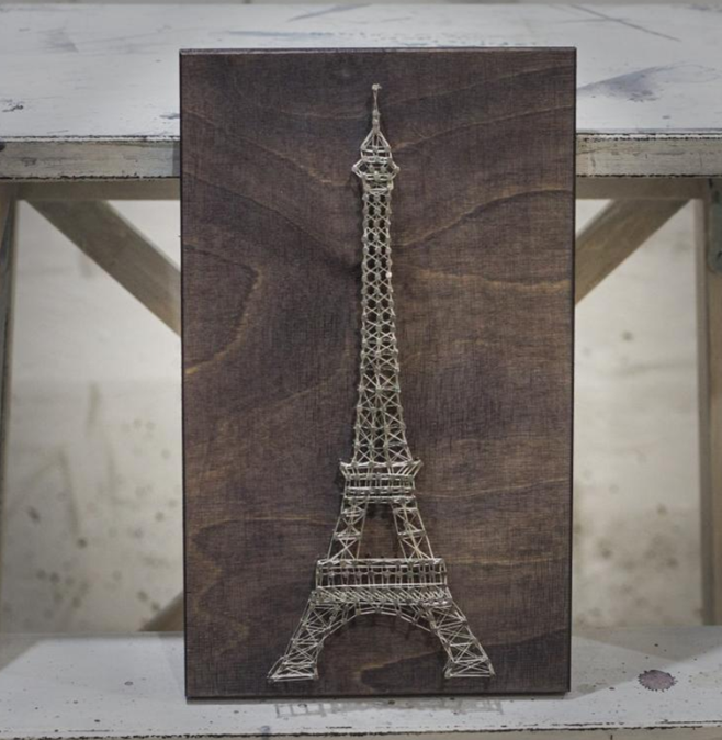 How To Diy Eiffel Tower Create Interior Painting In The Style Of