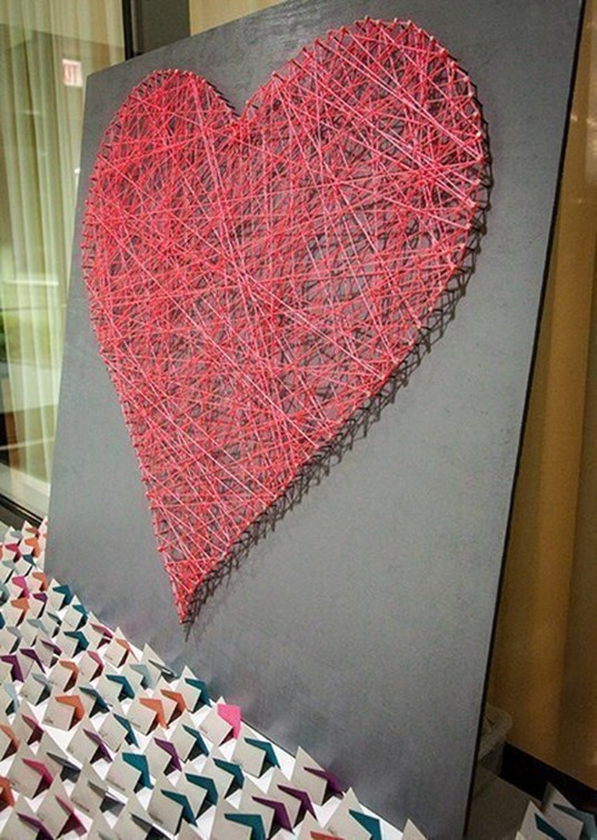 Home art what can be made out of nails and threads diy for What can you make out of string