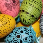 10 unusual ways to decorate Easter eggs