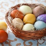 How to color Easter eggs with natural dyes!