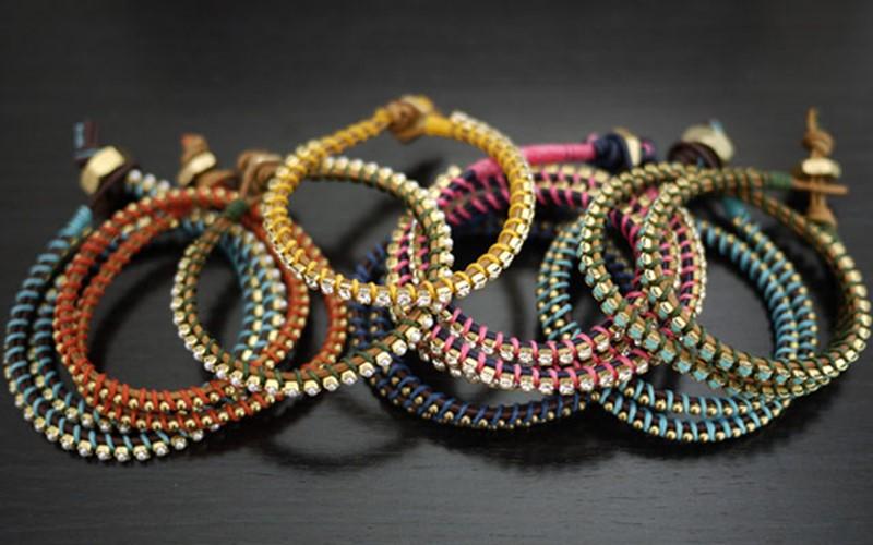 Плетение браслета необычного