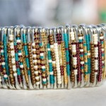 How to DIY Simple mother's day gift: Bracelet made of safety pins