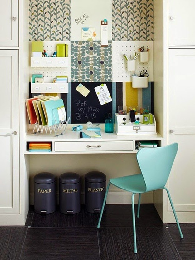 home office decorating ideas 23 ideas for workplace diy is fun. Black Bedroom Furniture Sets. Home Design Ideas