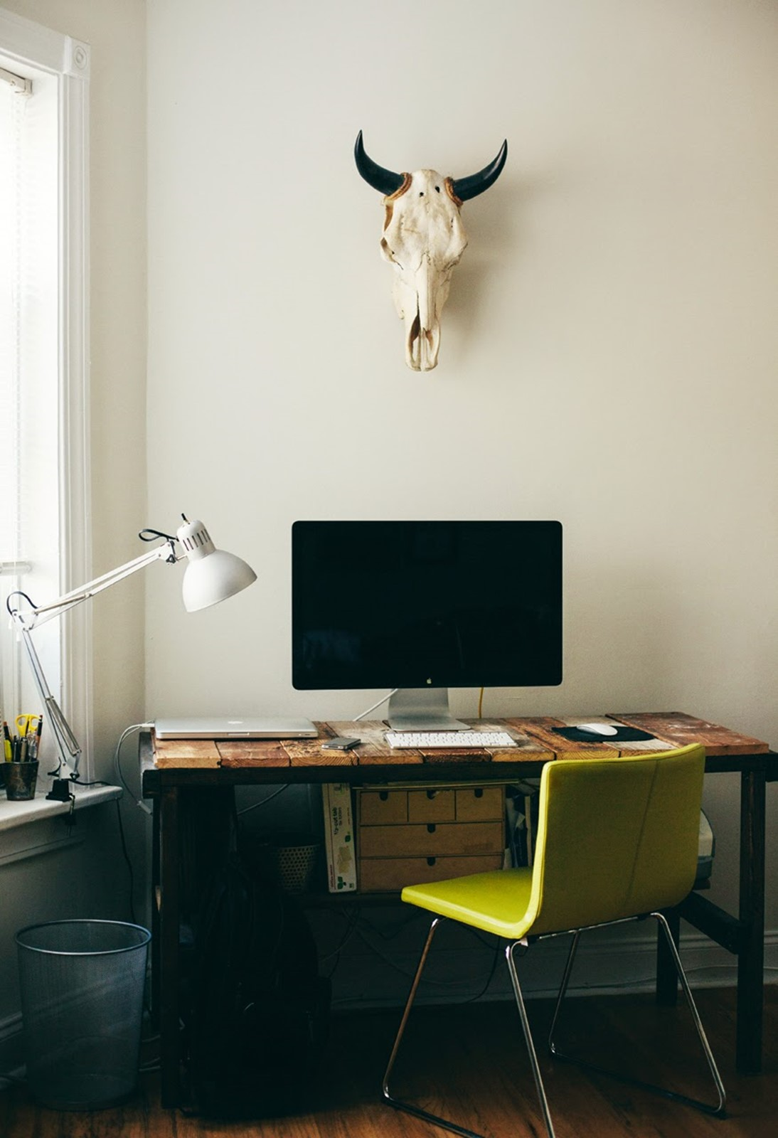 Home office decorating ideas: 23 Ideas for workplace – DIY is FUN