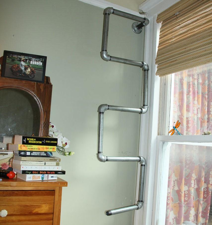 Как сделать своими руками шкаф-полку из металлических труб своими руками