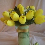 Tulips from paper: best mother's day gifts