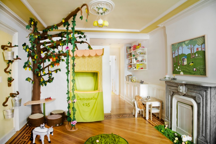 Awesome interior designing: 16 ideas with a hanging swing, which ...