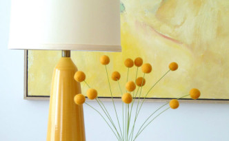 "Interesting flower crafts: Spherical flowers ""Billy Buttons"""
