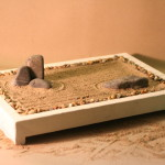 Unique craft ideas: DIY rock garden
