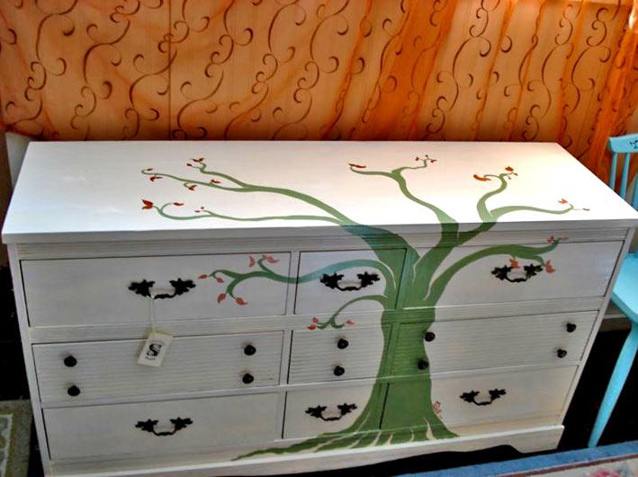 Краска своими руками мебель для