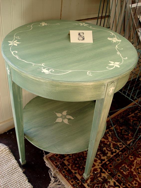 Реставрируем старый круглый стол своими руками фото 466