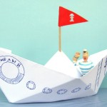 Recycled crafts for kids: How to make paper boat