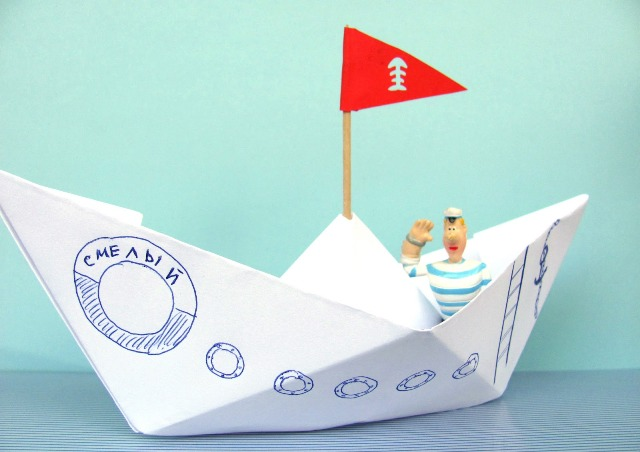 Recycled crafts for kids how to make paper boat diy is fun for How to make recycled paper crafts