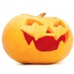 Easy halloween crafts for kids: Halloween pumpkin