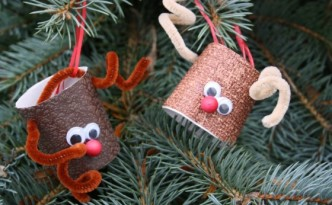 Good craft ideas for Christmas: Toy deer