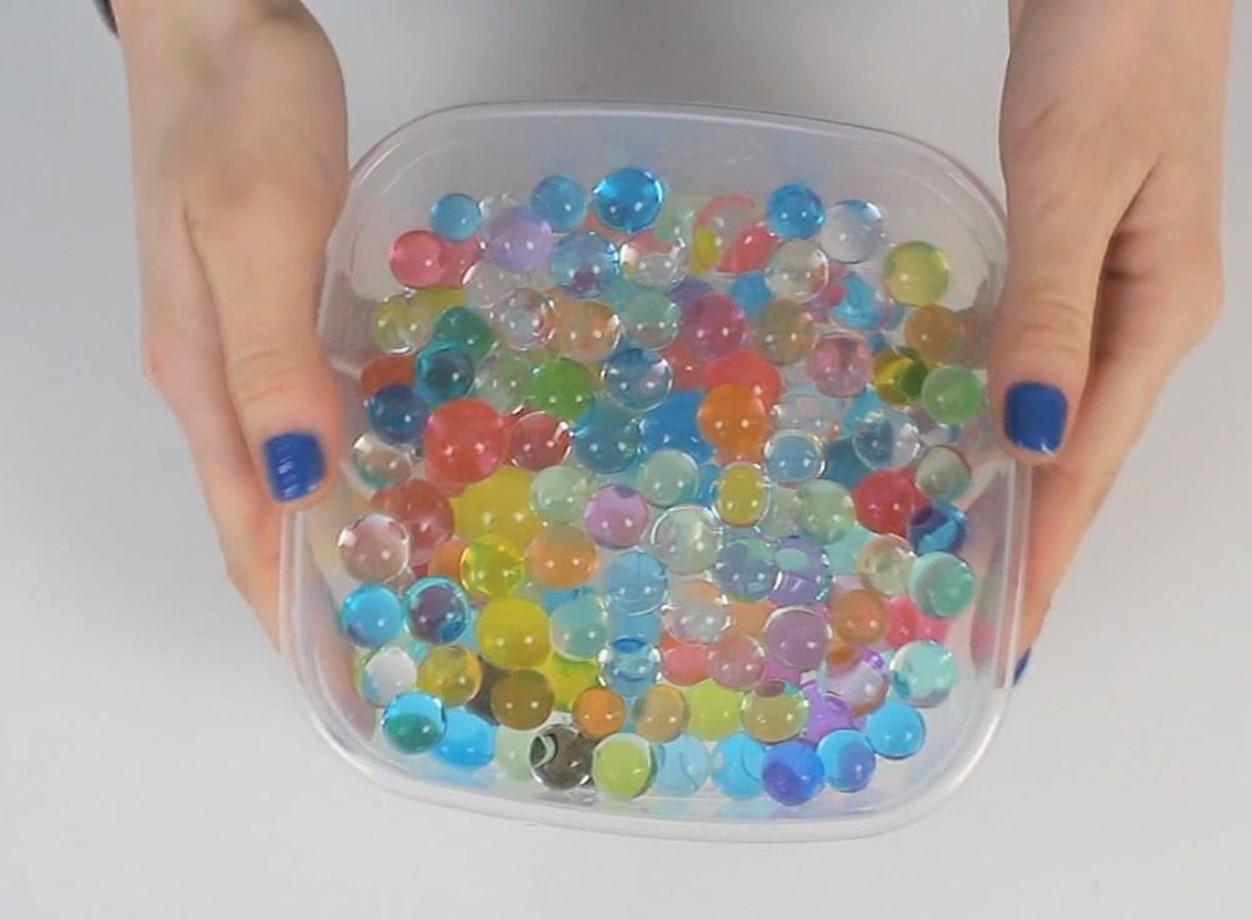 Водяные шарики сделать своими руками