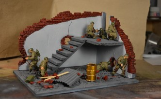 Awesome fathers day gifts: Military diorama